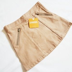 NEW Gymboree Tan Skirt